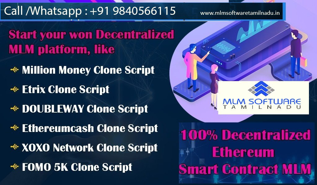 Cryptocurrency and smart contract MLM development company